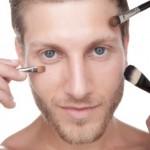 Como fazer maquiagem masculina.