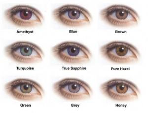 como combinar a cor dos olhos e a cor da sombra