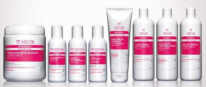 cosméticos de tratamento adcos