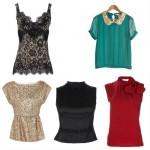 Como montar um guarda roupa básico parte IV: top's e blusas!