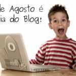 """Hoje é o dia do Blog: """"blog day""""."""