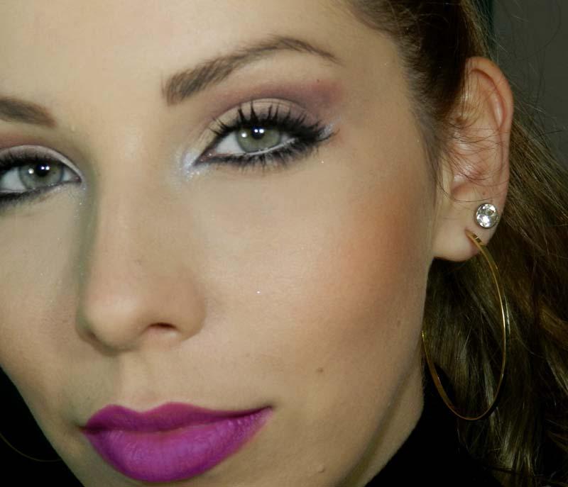 batom ou gloss lilás dicas de maquiagem
