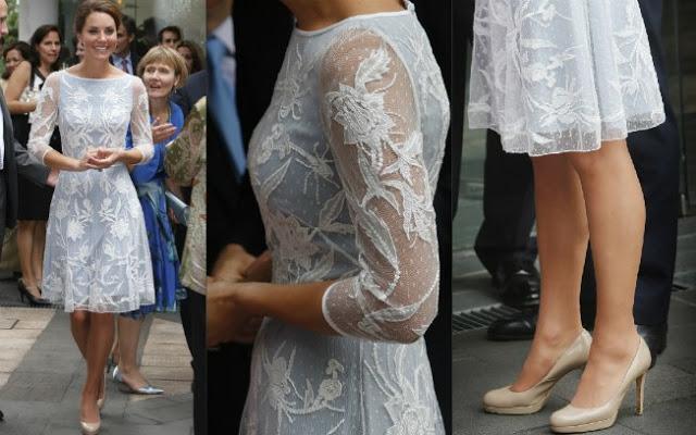 Kate Middleton adora uma renda!