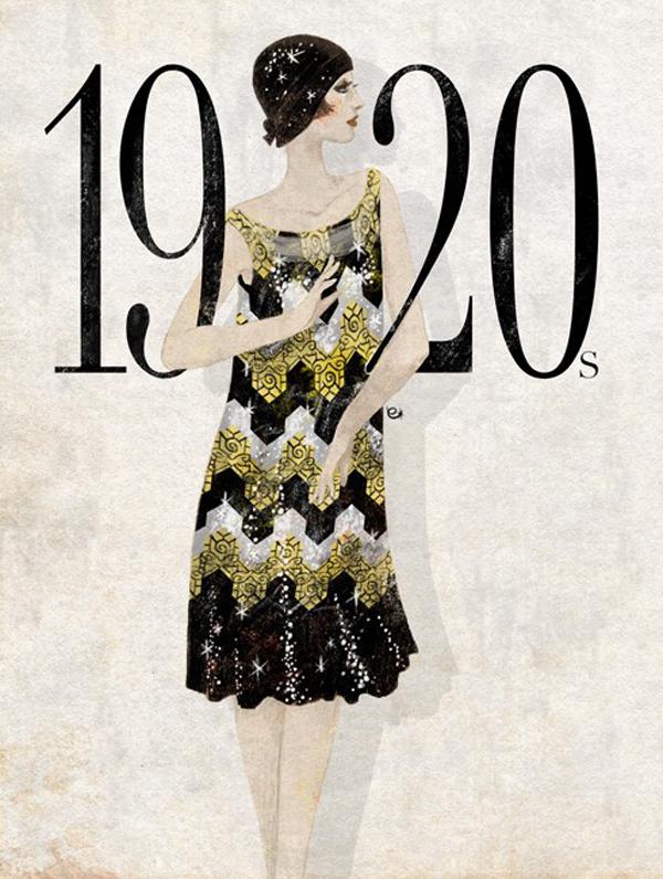 a moda dos anos 20