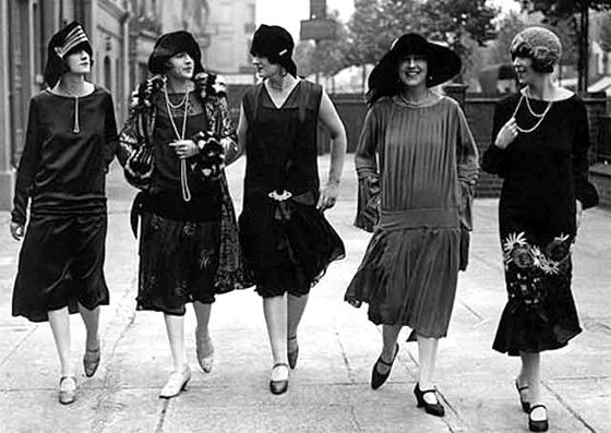 os anos 20 na moda