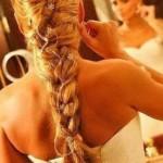 Penteado de noivas: tranças.