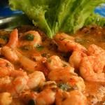 Sexta gourmet viagem regional: Bahia – moqueca de camarão.