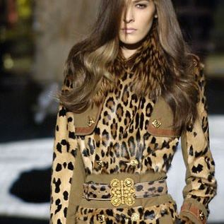 animal print leopardo roberto cavali