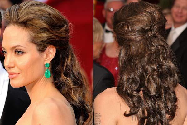 penteados para festas cabelos soltos e semi presos tranças
