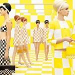 O xadrez de Marc Jacobs: jogo de damas.