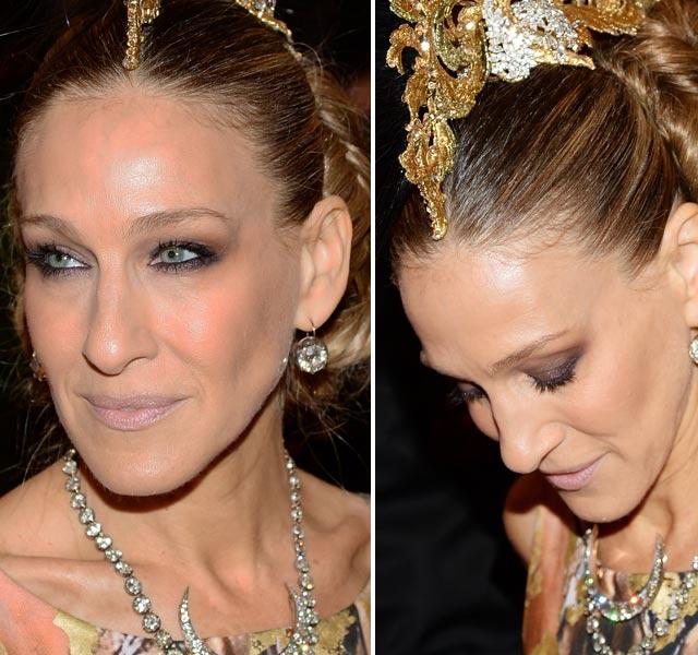 maquiagem baile met gala sarah jessica