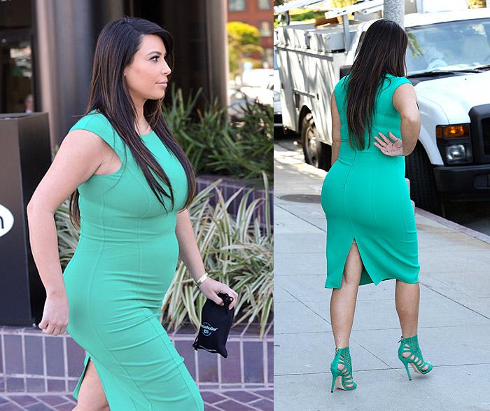 moda gestante alessandra faria estilo e maquiagem kim kardashian