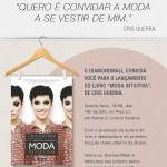 Cris Guerra lança seu livro Moda Intuitiva.