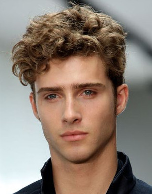 corte de cabelo masculino cabelos ondulados