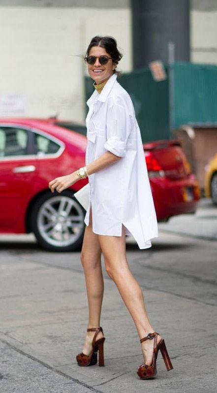 Camisa branca para todas estações e épocas por Alessandra Faria