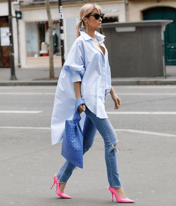 Maxi Camisa branca para todas estações e épocas por Alessandra Faria