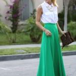As cores: a jovem esperança do verde.