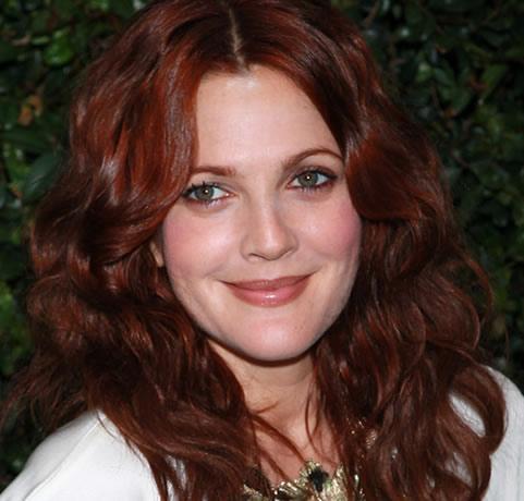 cabelos ruivos vermelho-drew-barrymore