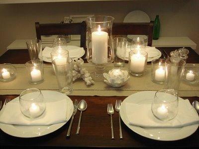 como decorar a mesa de jantar fácil e barata3