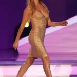 O vestido de Fernanda Lima no sorteio da Copa 2014.