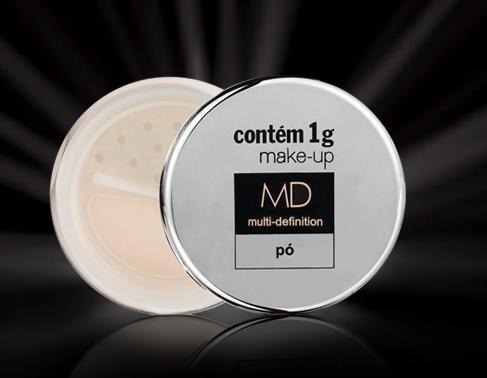 dicas de maquiagem para pele oleosa pó MD contém 1g