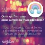 Sorteio na fan page do Clube das Blogueiras.