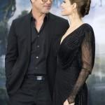 Angelina Jolie elege o preto para divulgação de Maleficent da Walt Disney!