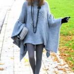 Inverno 2014: como usar poncho!