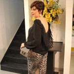 Look do dia: animal print mais franja!