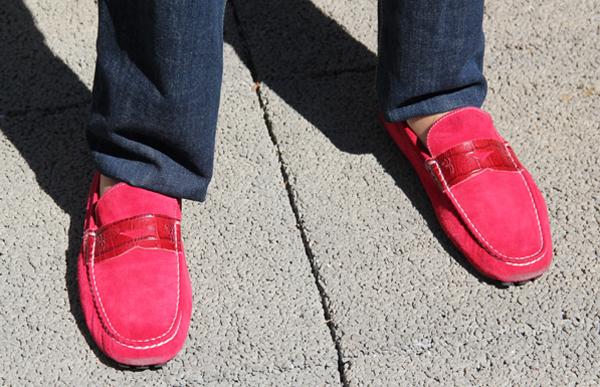 2130dcd85c Moda masculina  sapato masculino colorido para o dia dos namorados!