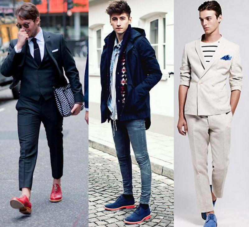 29a1bda6cd Moda masculina  sapato masculino colorido para o dia dos namorados!