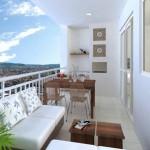 Para se inspirar décor: varanda e área privativa!
