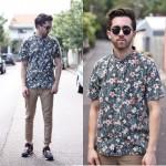 Moda masculina: floral print para homens, pode sim senhor!