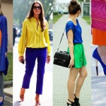 Como usar o color blocking no verão 2015!