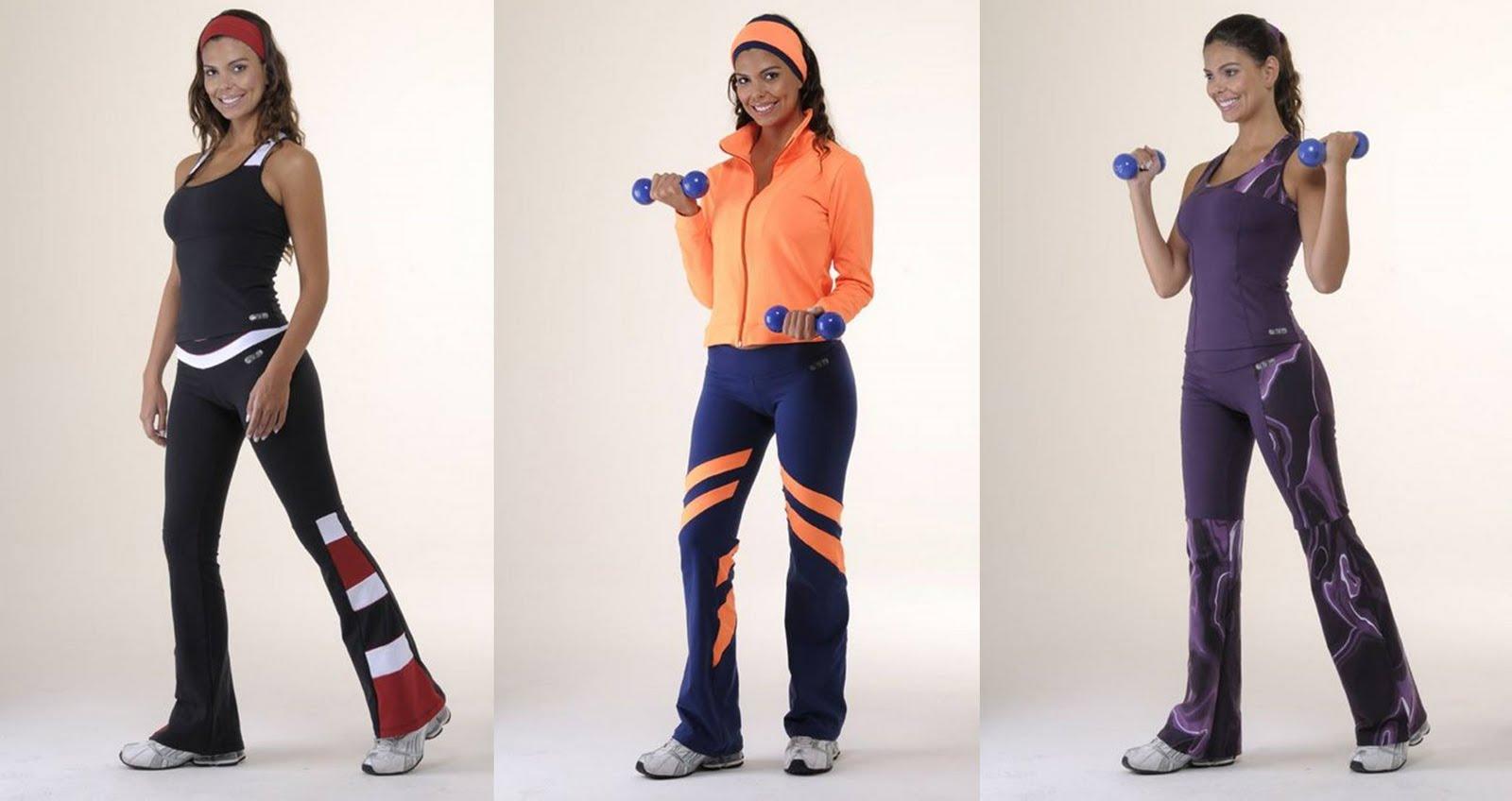 3da64979e9 Depois dos 40  moda fitness - roupas de ginástica para mulheres maduras!