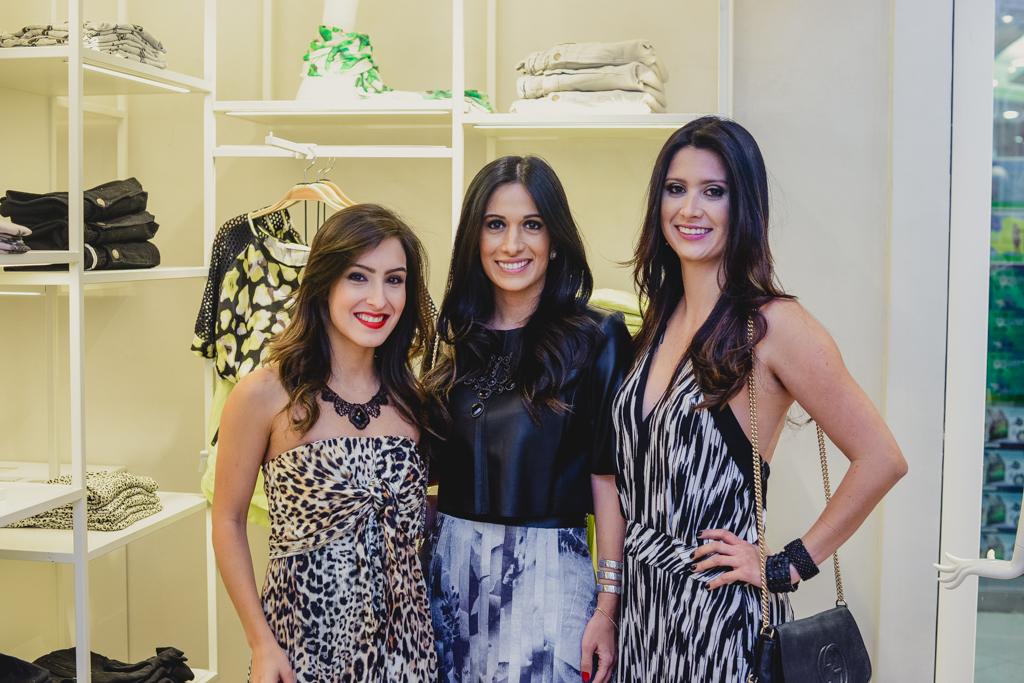 Juliana Noronha, Silvia Braz e Constanza Fernandez