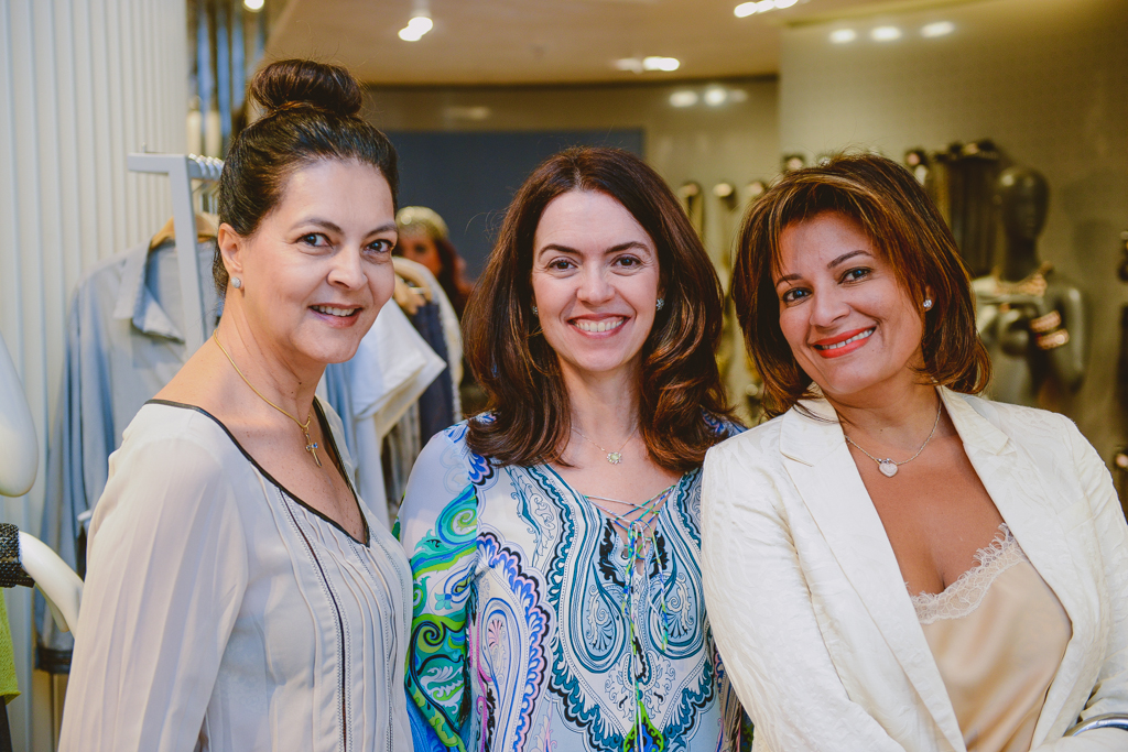 Simone Arcure, Cibele Andrade e Claudete Moraes-