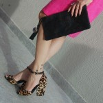 Look do dia rosa mais animal print e mix discreto de estampas!