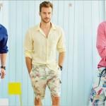 Moda masculina: bermuda floral para homens!