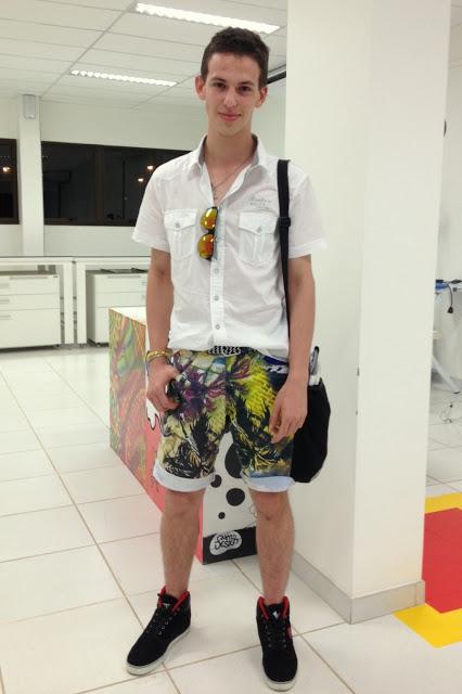 moda-masculina-bermuda-floral-para-homens 4