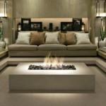 Para se inspirar decoração: lareira elétrica e lareira ecológica.