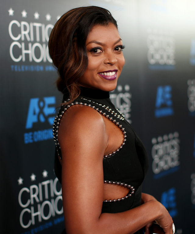 BEVERLY HILLS, CA - MAY 31: Actress Taraji P. Henson attends the 5th Annual Critics' Choice Television Awards at The Beverly Hilton Hotel on May 31, 2015 in Beverly Hills, California. (Photo by Christopher Polk/Getty Images for Critics' Choice Television Awards)