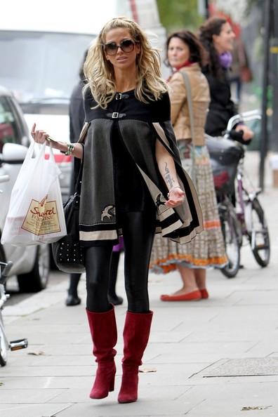 para_se_inspirar_botas_vermelhas_burgundy_boots 2