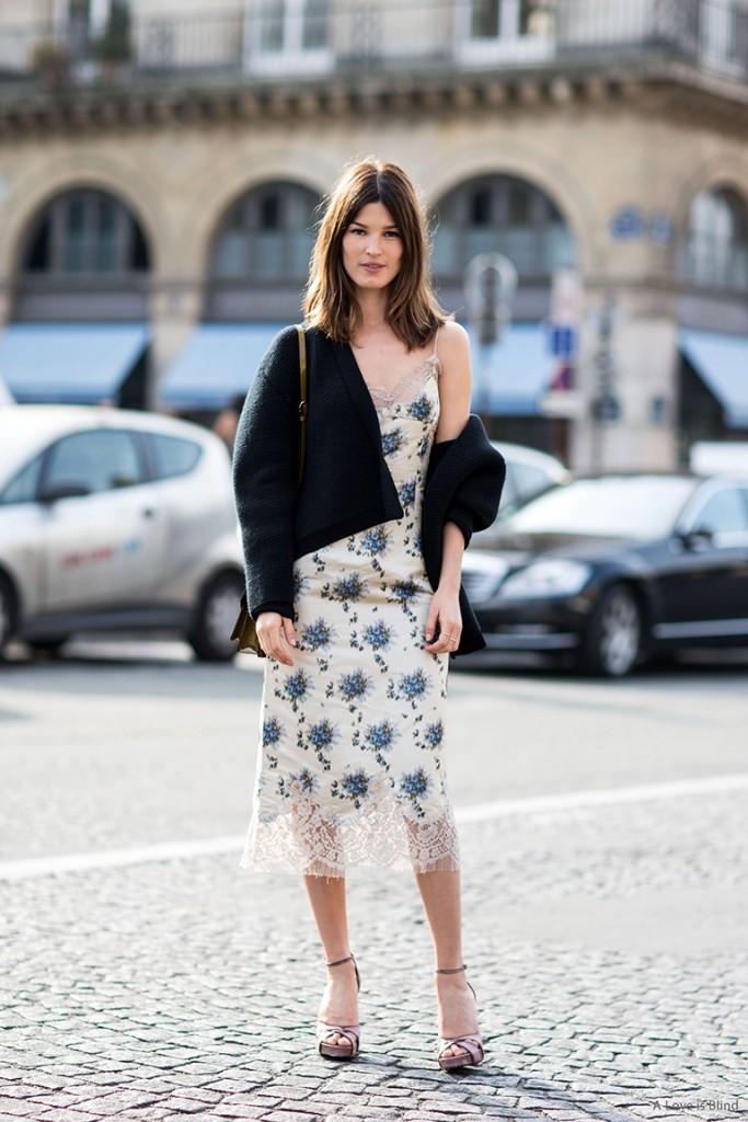 Paris Fashionweek ss2014 day 7, outside Carré du Louvre, Louis Vuitton, Hanneli