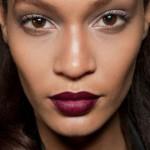 Para se inspirar: Maquiagem com batom vinho