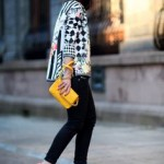 Street Style: preto branco e amarelo!