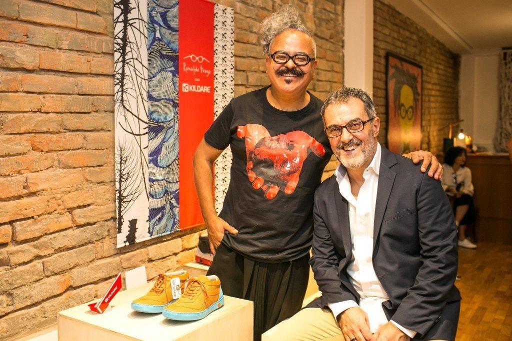 Ronaldo Fraga e Fernando Alano- 2