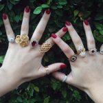 Como usar vários anéis juntos!