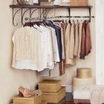 Open closet: arara para organizar seus looks!