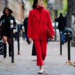 All red look street style para se inspirar!